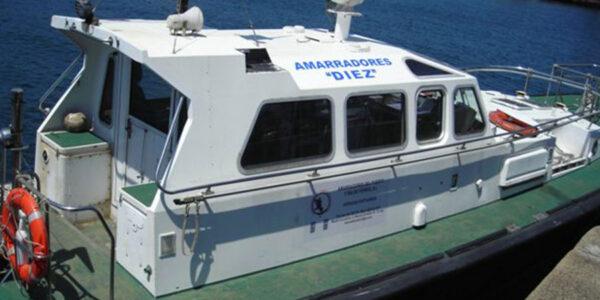 Servicios Portuarios | Amarradores del Puerto y Ría de Ferrol S.L.